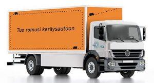 HSYn jätekeräysauto