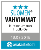 Suomen vahvimmat 2015 logo